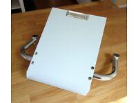 Metal Trolley Handle A4 Clipboard