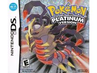 Pokemon Platinum Version for Nintendo DS