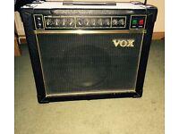 Vintage valve Vox amplifier