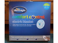 Double Electric Blanket by Silent Night, 3 Heat Settings
