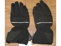New RST Shadow Black waterproof motorcycle gloves - XXL