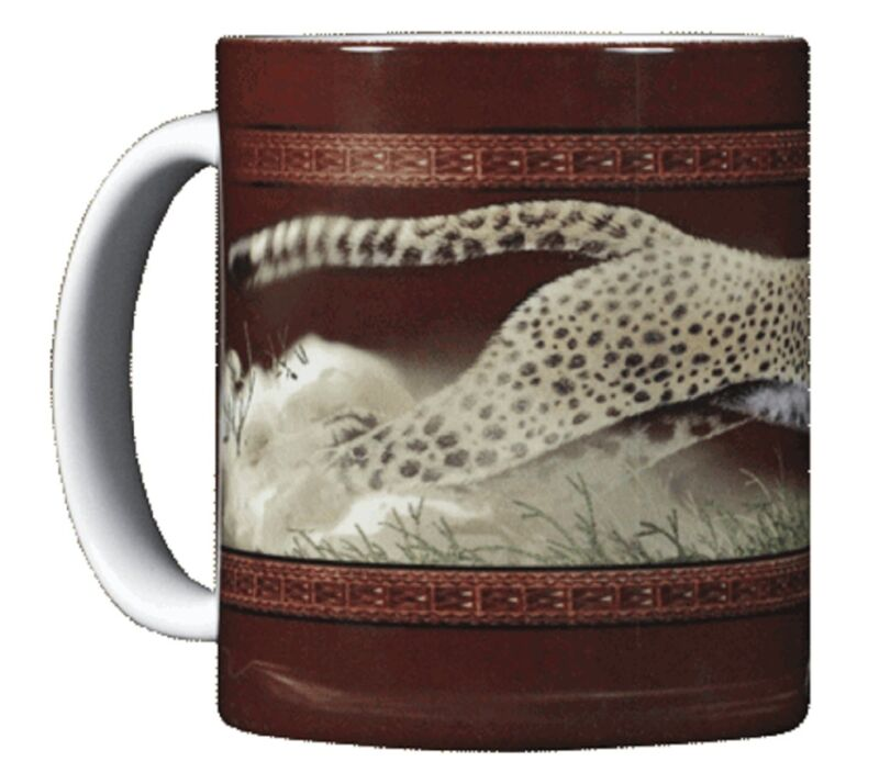 Cheetah 11 OZ. Ceramic Coffee Mug or Tea Cup