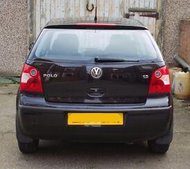 54 Plate VW Polo Twist 1.2 5 Door in Black