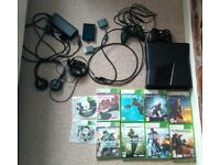 Xbox 360(320GB HDD),10 Games,Extra Controller and Turtle Beach Headset