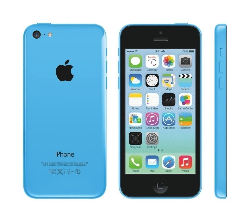 IPHONE 5C (BLUE) O2,16GB