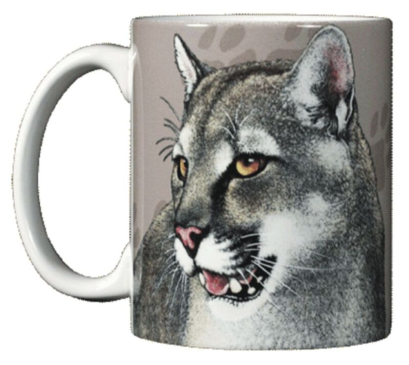 Mountain Lion 11 OZ. Ceramic Coffee Mug or Tea Cup
