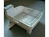 Dish Rack With Drainer Tray & Knife Holder