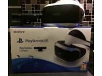 VR headset and camera for PlayStation 4