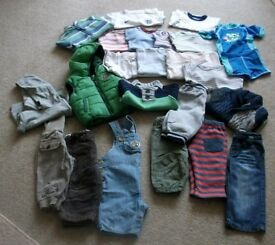 Boys Baby Clothes Bundle age 0-6mths