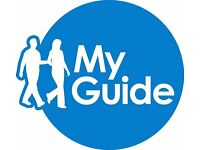 Volunteers Wanted! My Guide Promoters can help change the lives of people with sight loss.