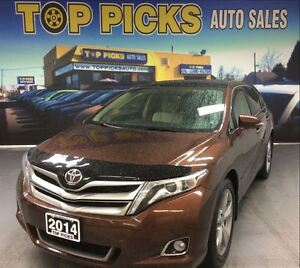 2014 Toyota Venza LIMITED AWD, LEATHER, PANORMAIC SUNROOF, NAVI!