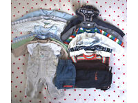 Baby boy clothes bundle. 19 items. 3-6 months. Next, Head, John Lewis,etc.Willing to split.£8 ovno