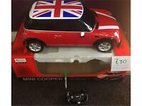 Mini Cooper remote control car Scale : 1/6