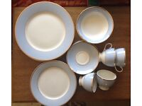 20 piece Doulton dinner service for 4 unused, excellent condition.