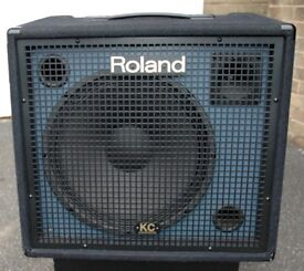 Roland KC550 keyboard amp also could be used for Bass amp / drumpads