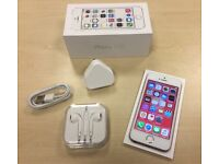 Boxed Rose Gold Apple iPhone 5S 64GB Factory Unlocked Mobile Phone + Warranty