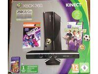 Xbox kinect 360, 250GB