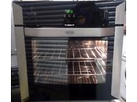 Belling BL60FP Fan Assisted Single Electric Oven In Black / Stainless Steel