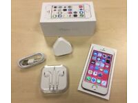 Boxed Rose Gold Apple iPhone 5S 16GB Factory Unlocked Mobile Phone + Warranty