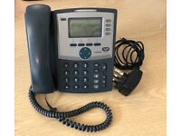 Linksys SPA941-UK IP 2-Line VoIP Business IP Telephone + Stand (3 available)
