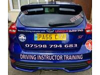 Driving Instructor Training with Unique Driving Cardiff driving lessons