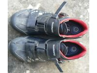 Shimano MO88 MTB/CX shoes, size 48(47) wide fitting, plus SPD cleats