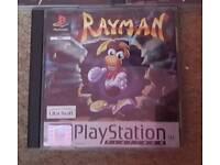 Rayman PS1 Playstation Game