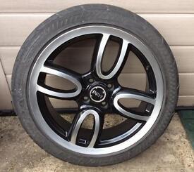 "17"" mini Alloy Wheel 4 stud by 100 PCD"