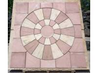 Rotunda Circular Paving Slabs Flags Kit