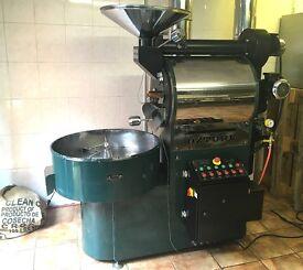 Commercial Coffee Roaster Ozturk 15kg LPG Gas Single Phase