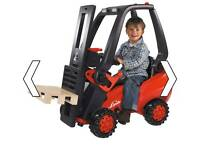 Wanted pedal forklift