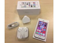 Boxed Rose Gold Apple iPhone 5S 32GB Factory Unlocked Mobile Phone + Warranty