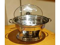 Tramontina 4ltr Stainless Steel Chafing Dish
