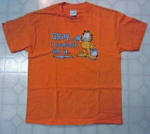 NEW - Garfield 'Ok I Probably Did It' T-shirt