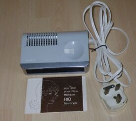 RONSON RIO HAIRDRYER - VINTAGE LATE 1960s / EARLY 1970s