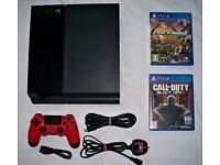 Playstation 4 ps4 with controller and games!!!