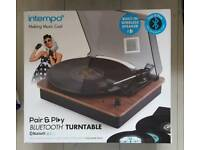 Brand new Bluetooth turntable