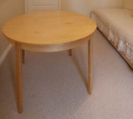 IKEA Extending Dining Table 117cm diameter - extends to 210cm