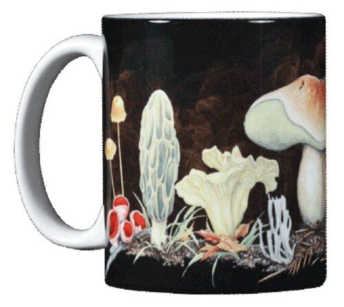 Mushroom 11 OZ. Ceramic Coffee Mug or Tea Cup