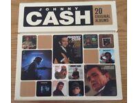 Johnny Cash Box Set 20 Original Albums, 224 Songs