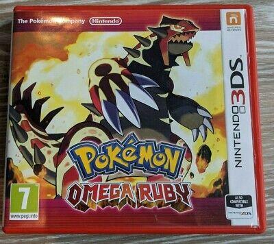 Pokémon Omega Ruby Nintendo 3DS Video Game