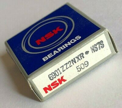 6901ZZ2NXR | NS7S | 509 NSK Metal Shield Ball Bearing Made In Japan NEW for sale  Shipping to Canada
