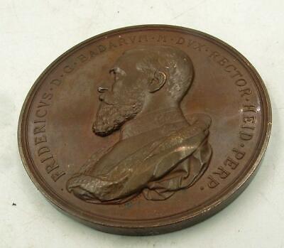 1886 UNIVERSITY HEIDELBERG GERMANY 500 YEARS / QUINCENTENARY COMMEMORATIVE MEDAL