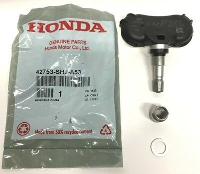 Genuine Honda Acura OEM - TPMS Tire Pressure Sensor Kit w/ Nut + Washer