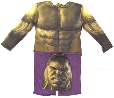Marvel Incredible Hulk Boy's Full Body Halloween Party Costume Size 1 Ages 5/6](Incredible Hulk Halloween)