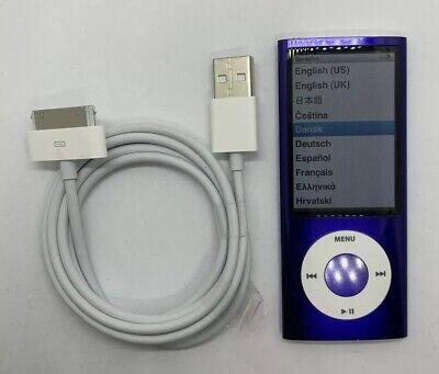 Gebraucht, Apple iPod Nano 5. Generation Violett Purple Lila 8GB 5G 5th gebraucht #121 TOP gebraucht kaufen  Augsburg