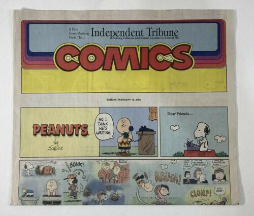 Charles Schulz Last Peanuts Comic, 3 Copies Beautiful, Feb. 13, 2000