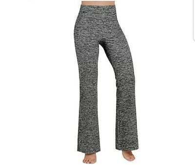 Power Flex Boot Cut Yoga Pants Tummy Control Workout Pants 4 Way Stretch -