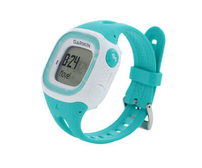 Garmin Forerunner 15 Bundle Unisex Sports Watches, Color: Turquoise/White