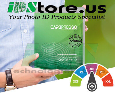 CardPresso XM ID Card Design Software - CP1200LA (Latin America Region Only)